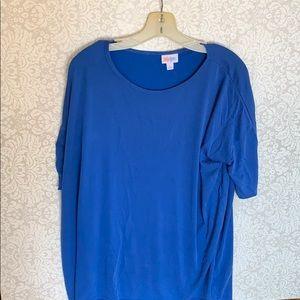 LuLaRoe royal blue Irma L